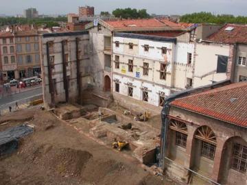 Le château médiéval des comtes de Toulouse