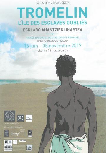 Affiche expo Tromelin Bayonne