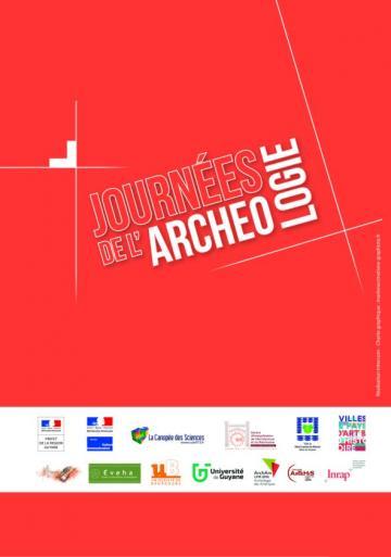 """Visuel Journées de l""""archéologie Guyane 2016"""