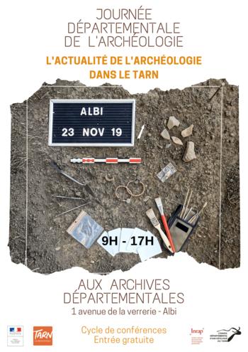 Journée départementale de l'archéologie dans le Tarn