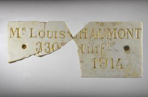 Enquête archéologique sur le cimetière français de la Grande Guerre à Spincourt