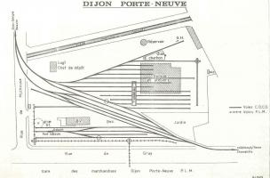 Dijon, tacots, plan