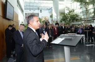 L'exposition photographique « Sur les rails de l'histoire » au siège de SNCF Réseau
