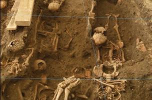 Le cimetière médiéval Saint-Rieul