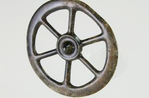 6-4-2 Rouelle en bronze