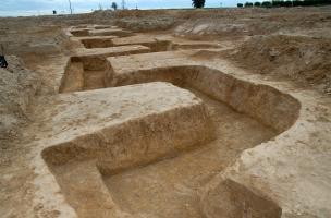 Archéologie de la Grande Guerre. Visite d'une tranchée 14-18