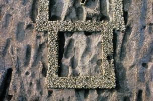 6-7-2 Vue verticale de l'église à chevet carré de Saleux
