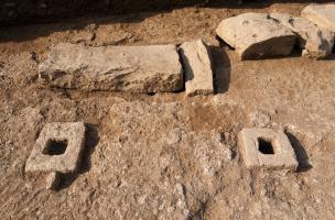un diagnostic archéologique place des Martyrs