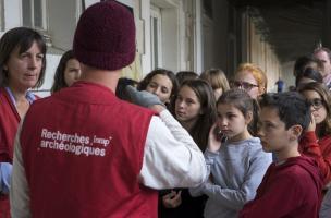 1 - Collège Victor Hugo à Narbonne - fouille du Capitole, 2017
