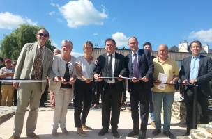 Inauguration de Vorgium, centre d'interprétation archéologique virtuel
