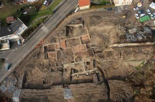 Les thermes antiques de Belley route des Ecassaz