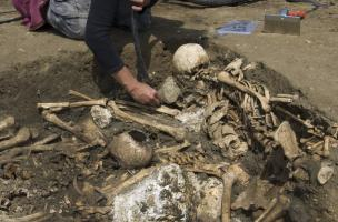 archéologie de la virée de Galerne