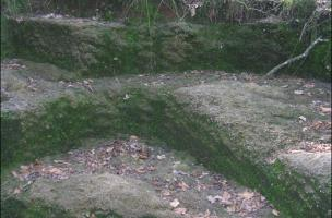 Massif de la Serre - Les carrières d'extraction de meules d'Offlanges