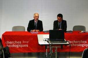 Visuel 2 signature convention Inrap Eiffage Immobilier, Bordeaux 2016