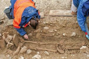 Baïsse de Sainte-Anne - Une nécropole de l'Antiquité tardive à Valensole