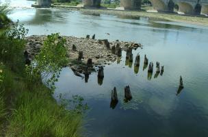 Pont 1, dit «de l'île Saint-Jacques»
