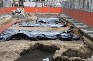 Les fouilles archéologiques de la 2<sup>de</sup> ligne de tramway d'Orléans