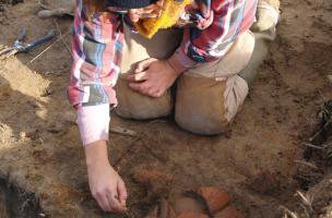 Un nouvel atelier de poterie sigillée à Lezoux