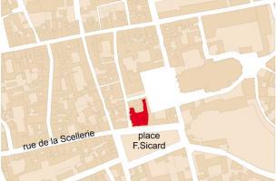 Abords de la cathédrale / place François Sicard