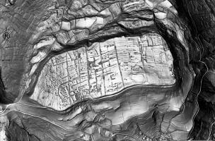 Les fortifications de l'Oppidum de Gergovie - Lidar 2000