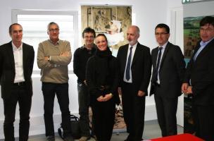 Visuel 4 signature convention Inrap Eiffage Immobilier, Bordeaux 2016