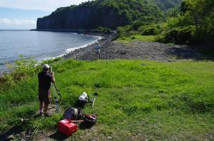 Première intervention de l'archéologie préventive à La Réunion