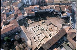 6-7-4 Vue aérienne d'un bâtiment du Ve siècle de notre ère