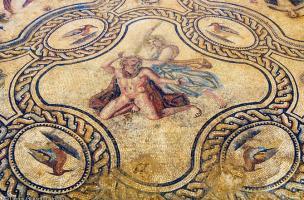 Antiquite - mosaique penthee