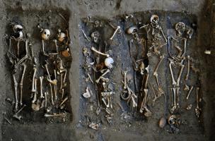 Découverte d'un temple antique sous le couvent des Jacobins à Rennes