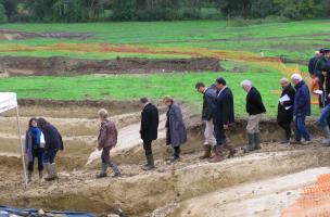 Fouille de Bourg-Charente, du Paléolithique au Moyen Âge