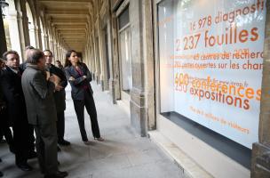 discours d'Arnaud Roffignon, directeur général de l'Inrap
