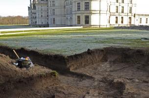 Un diagnostic archéologique à Chambord