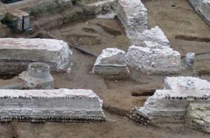Fondations du monument wisigothique, Ve siècle