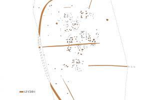 Plan d'ensemble des structures du site