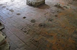 Sol de briques, période moderne