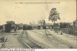 Dijon, tacots, carte postale