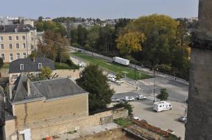 46 - Le Mans, Jardins de la cathédrale