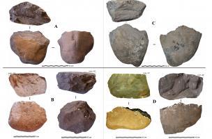 Exemples de pièces archéologiques et de pièces expérimentales réalisées dans le cadre du projet ARCHOR