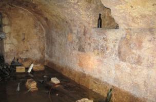 9 - fig.3.Découverte d'un mikvé dans le quartier juif médiéval de Saint-Paul-Trois-Châteaux
