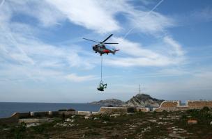 participation d'hélicoptères de l'armée de l'air