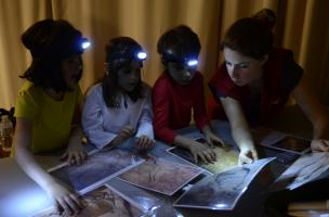 Nuit blanche des petits et archéologie  au 104, samedi 4 octobre 2014 de 18 h à 21 h 30