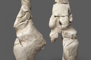 Découverte d'une statuette paléolithique à Amiens