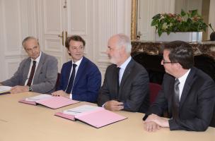 1 - Convention de partenariat entre l'AMF et l'Inrap, 2017