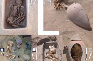 sépultures du cimetière de l'Est