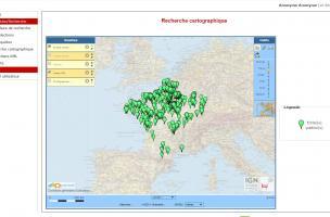 recherche cartographique