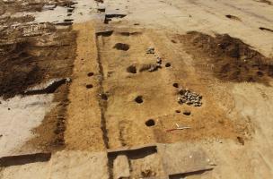 Guipavas, Lavallot Nord. Bâtiment excavé Xe s.