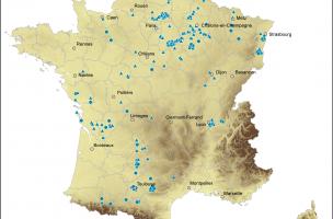 sites d'habitat et funéraires du du premier âge du Fer (nov. 2011)