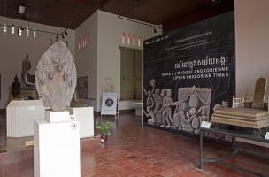 Visuel 1 - exposition Vivre à l'époque angkorienne
