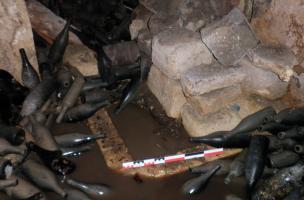 12 -fig.11.Découverte d'un mikvé dans le quartier juif médiéval de Saint-Paul-Trois-Châteaux
