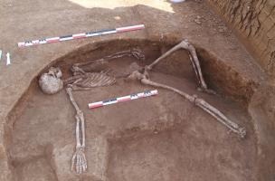Moussey - second sépulture issue du silo de La Tène A2-B1